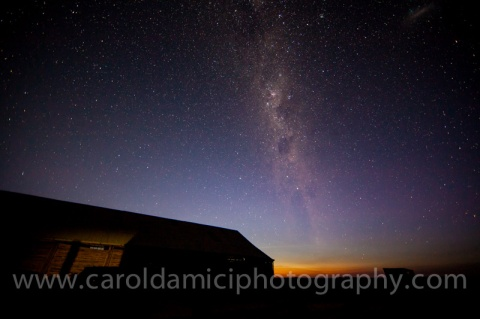 Night skies over Mungo National Park