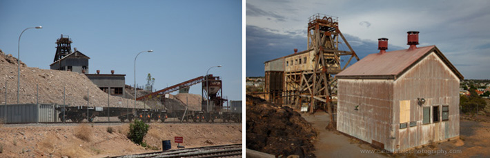 Old and new, evidence of mining is everywhere in Broken Hill
