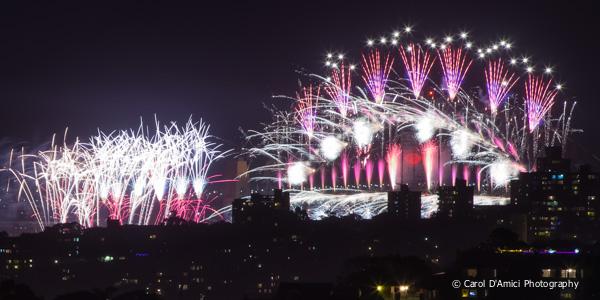 Fireworks Sydney 2012