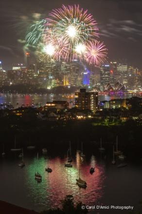 Fireworks, Sydney Harbour 2012