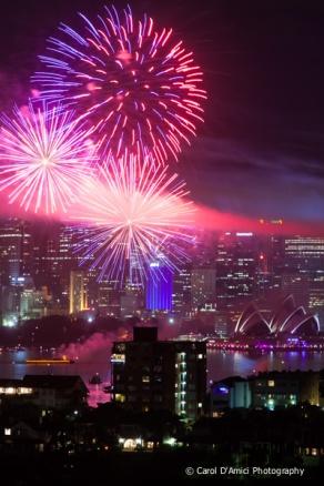 Fireworks Sydney Harbour 2012
